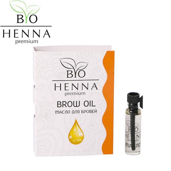 BIO HENNA PREMIUM Szemöldöknövesztő és ápoló olajkeverék 1,5 ml