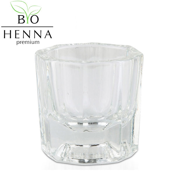 BIO HENNA PREMIUM festékkeverő üvegtálka