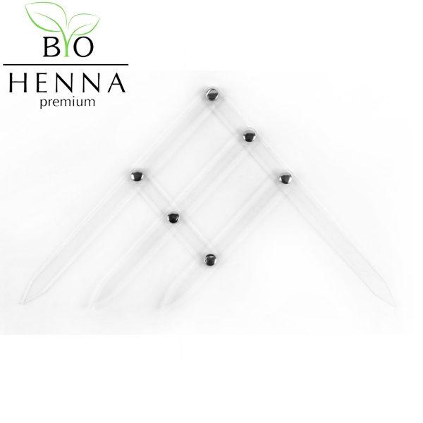 BIO HENNA PREMIUM műanyag szemöldök iránytű